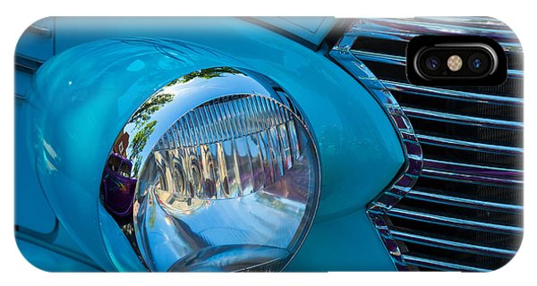 1936 Chevy Coupe Headlight And Grill IPhone Case