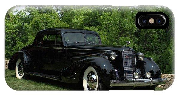1937 Cadillac V16 Fleetwood Stationary Coupe IPhone Case
