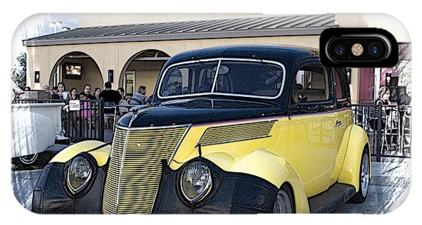 1937 Ford Deluxe Sedan_a2 IPhone Case