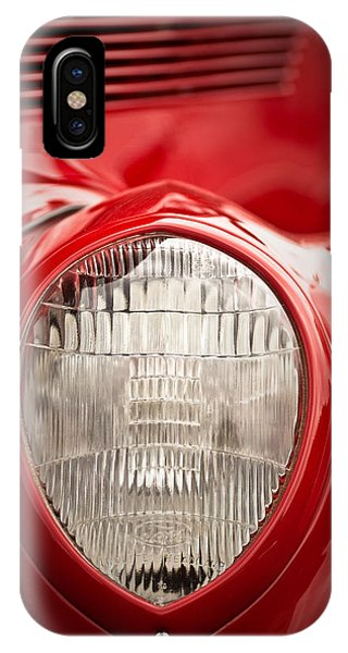 1937 Ford Headlight Detail IPhone Case