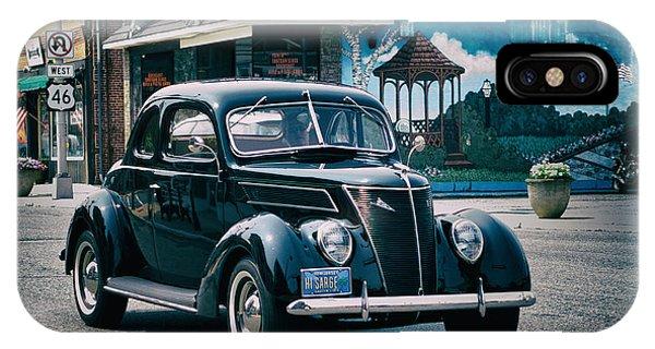 1937 Ford Sedan IPhone Case