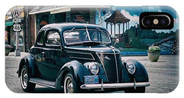 1937 Ford Sedan IPhone Case