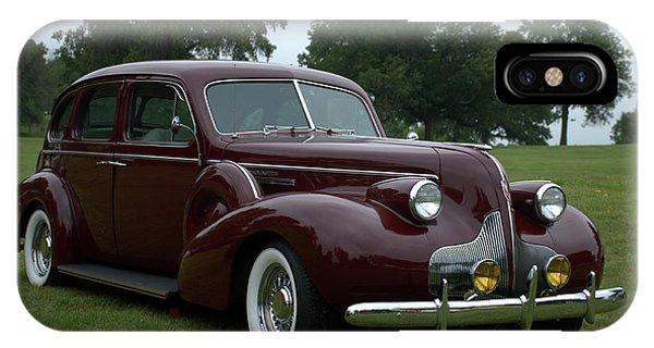 1939 Buick Roadmaster Formal Sedan IPhone Case
