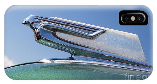 1940 Chevrolet Hood Ornament IPhone Case