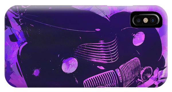 1940 Hupp Skylark Violet Pop IPhone Case
