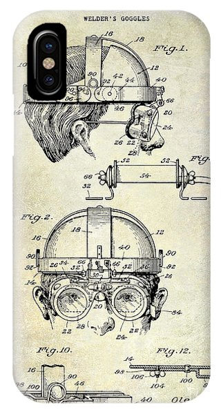 1940 Welders Goggles IPhone Case