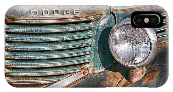 1940s Dodge Truck Front Grill And Headlight IPhone Case
