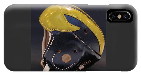 1940s Leather Wolverine Helmet IPhone Case