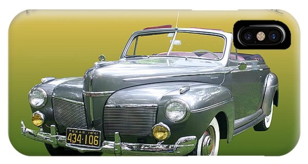 1941 Mercury Eight Convertible IPhone Case