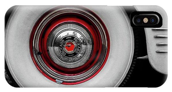 1941 Packard Convertible Wheels IPhone Case