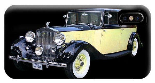 1941 Rolls-royce Phantom I I I  IPhone Case