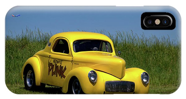 1941 Willys Coupe IPhone Case