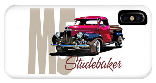 1947 M5 Studebaker Pickup IPhone Case