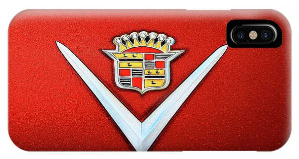 1948 Cadillac Hood Ornament # 2 IPhone Case