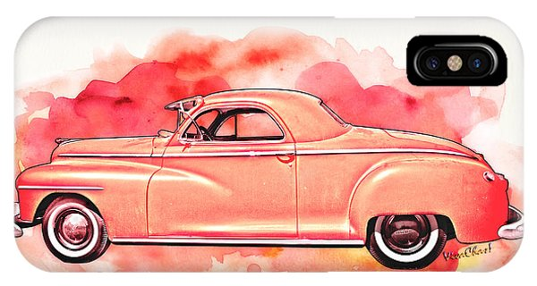 1948 Dodge Coupe As Seen In Luckenbach Texas By Vivachas IPhone Case