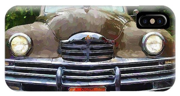 1948 Packard Super 8 Touring Sedan IPhone Case