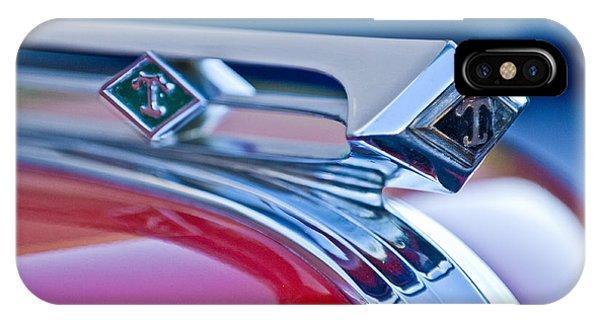 1949 Diamond T Truck Hood Ornament 3 IPhone Case