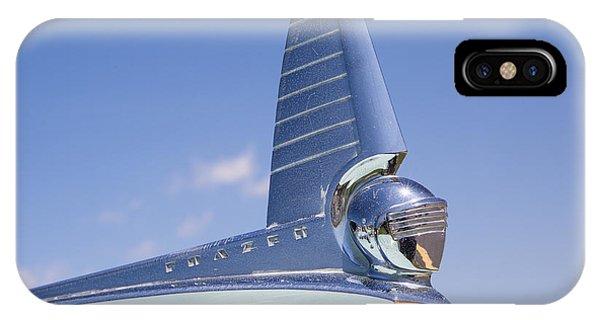 1949 Frazer Manhattan Hood Ornament IPhone Case