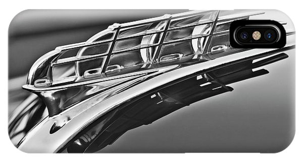 1949 Plymouth Hood Ornament 2 IPhone Case