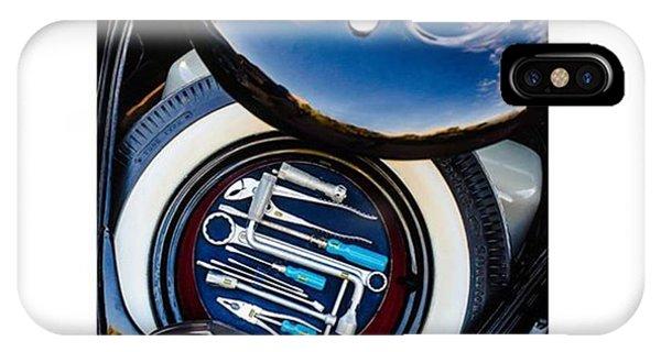 Volkswagen iPhone Case - 1949 Volkswagen Tool Kit by Jill Reger
