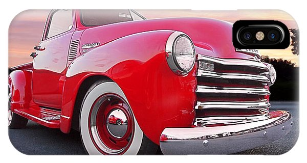 1950 Chevy Pick Up At Sunset IPhone Case