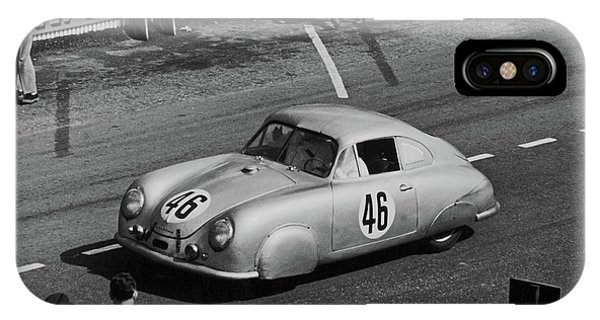 1951 Porsche Winning At Le Mans  IPhone Case