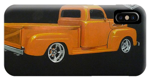 1952 Ford Pickup Custom IPhone Case
