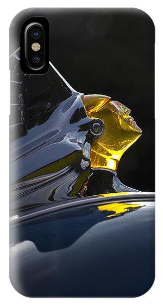 1952 Pontiac Catalina Chieftan Lighted Hood Ornament 2 IPhone Case
