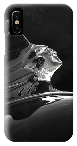 1952 Pontiac Catalina Chieftan Lighted Hood Ornament 3 IPhone Case
