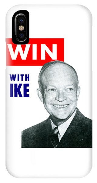1952 Win With Ike IPhone Case