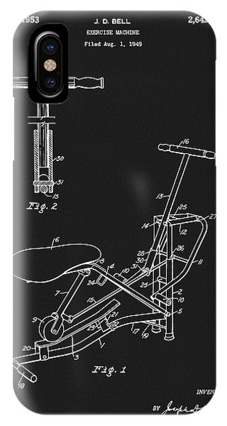 1953 Exercise Apparatus Patent IPhone Case