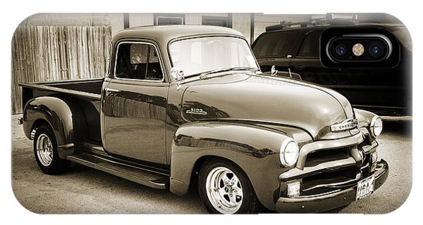 1954 Chevrolet Pickup Classic Car Photograph 6736.01 IPhone Case