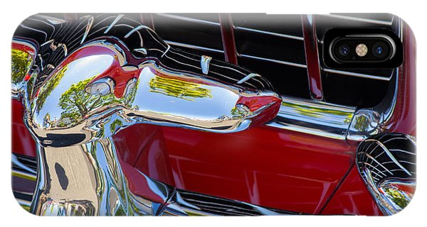 1955 Chevy Coupe Grill IPhone Case