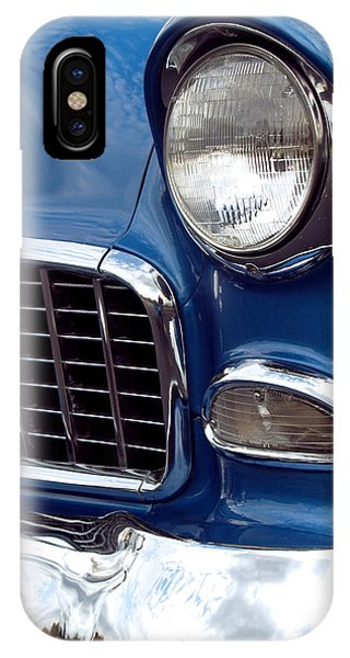 Car iPhone X Case - 1955 Chevy Front End by Anna Lisa Yoder