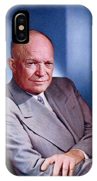 1955 President Dwight D Eisenhower IPhone Case