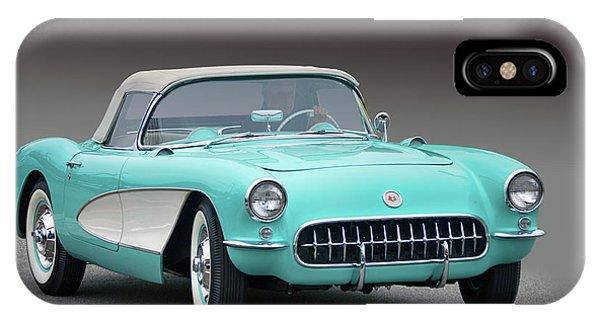 1956 Chev Corvette IPhone Case