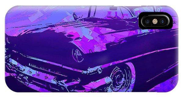 1956 Mercury Hardtop Custom Pop Violet IPhone Case