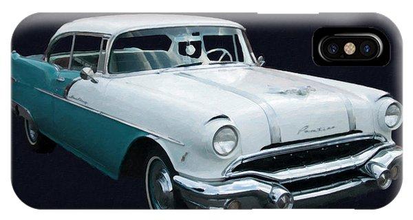 1956 Pontiac Star Chief Digital Oil IPhone Case