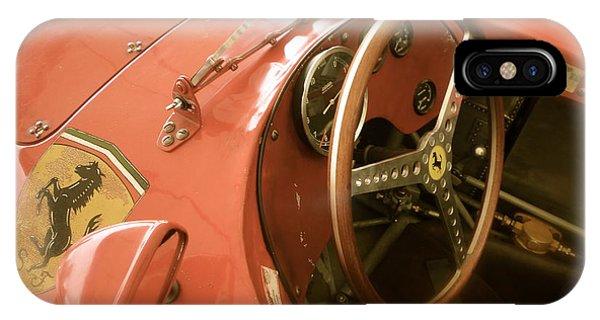 1956 Type Lancia Ferrari D50a Cockpit IPhone Case