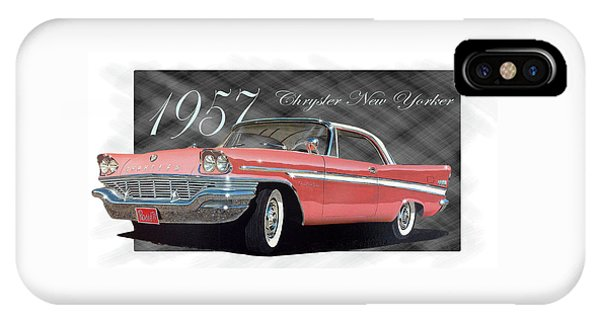 1957 Chrysler New Yorker IPhone Case