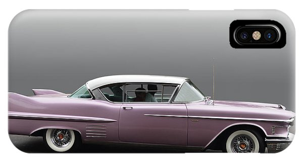 1958 Cadillac Coupe IPhone Case