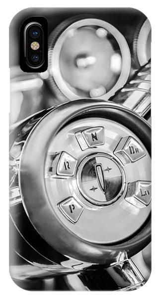 1958 iPhone Case - 1958 Edsel Ranger Push Button Transmission 2 by Jill Reger