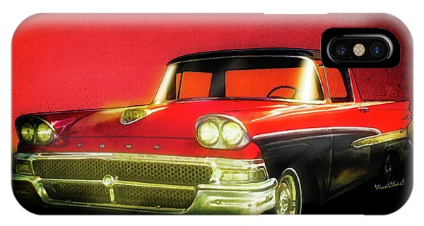 1958 Ford Ranchero 1st Generation IPhone Case