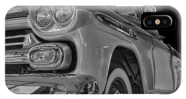 1959 Chevrolet Apache - Bw IPhone Case