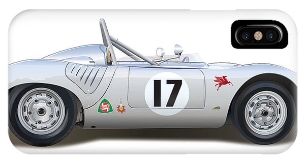 1959 Porsche Type 718 Rsk Spyder IPhone Case
