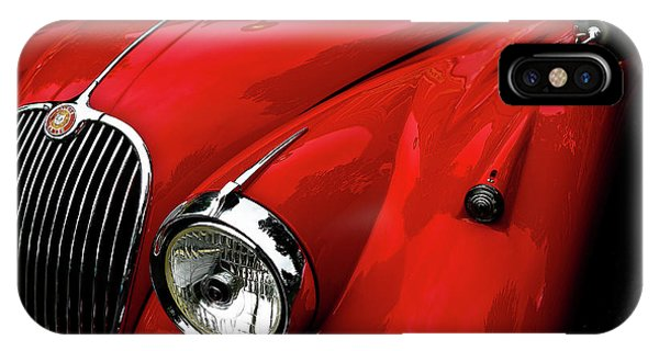 Red Jaguar IPhone Case