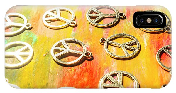 Peace iPhone Case - 1960s Peace Movement by Jorgo Photography - Wall Art Gallery