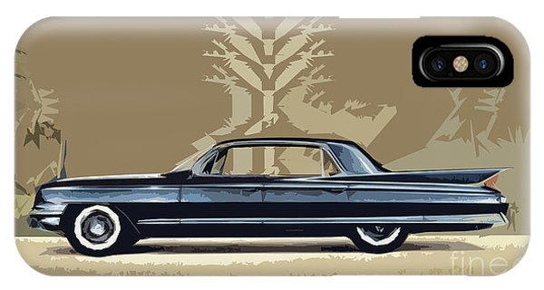 1961 Cadillac Fleetwood Sixty-special IPhone Case