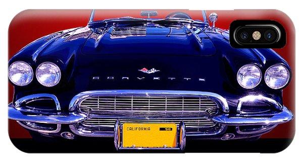 1961 Chevy Corvette IPhone Case