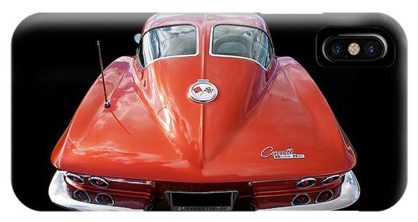 1963 Corvette Stingray Split Window Rear IPhone Case